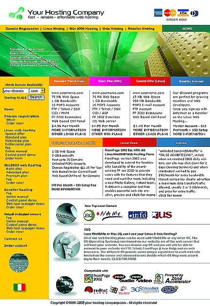 webdesign : Big, Screenshot 2168
