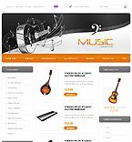 webdesign : music, shop, sound