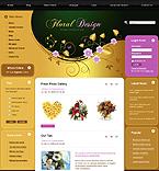 webdesign : floral, flower, basket