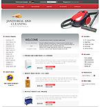 webdesign : deodorants, cleaner, vacuum