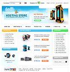 webdesign : technology, store, shopping