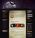 webdesign : Halloween, information, guestbook
