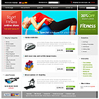 webdesign : store, training, clothes