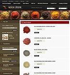 webdesign : shop, blend, cinnamon