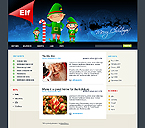 webdesign : Elf, winter, christian