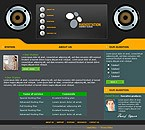 webdesign : entertainment, MP3, albums