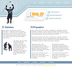 webdesign : hockey, skating, training