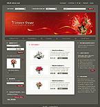 webdesign : shop, birthday, tulip