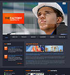 webdesign : factory, industrial, constructions