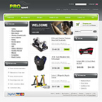webdesign : athletic, golf, products