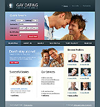 webdesign : dating, homoerotic, relationship