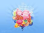webdesign : love, St., Valentine