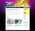 webdesign : team, portfolio, events