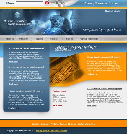 webdesign : Big, Screenshot 2408