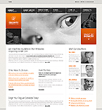 webdesign : work, events, philanthropy