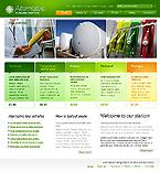 webdesign : gas, green, auto