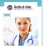 webdesign : medicine, healthcare, disease