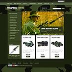 webdesign : gun, grip, bolt