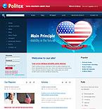 webdesign : politex, campaign, member