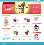 webdesign : pets, vet, color