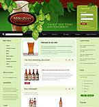 webdesign : food, offers, bottle