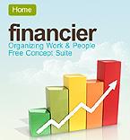 webdesign : financier, business, public