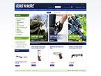 webdesign : shop, gun, ejector