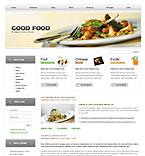 webdesign : links, flavour, kitchen