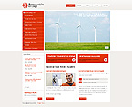 webdesign : renewable, craftsmen, shine