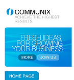 webdesign : communix, communications, communication