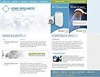 webdesign : appliances, hardware, vacuum