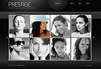 webdesign : models, catwalk, beauty