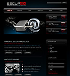 webdesign : security, safe, business
