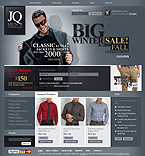 webdesign : man, shop, clothes