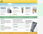 webdesign : rejuvenation, damping, lotion