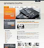 webdesign : immigration, temporary, permission