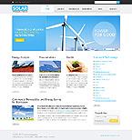 webdesign : ecological, clean, warm