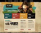 webdesign : marine, training, officer