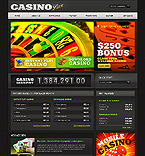 webdesign : casino, players, jackpot