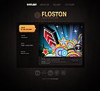 webdesign : floston, dancers, deejays