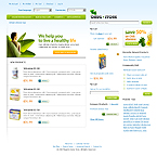 webdesign : store, vaccine, prescription
