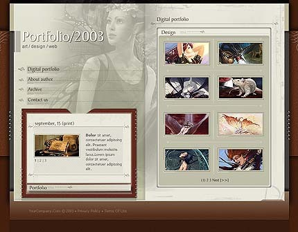 webdesign : Big, Screenshot 3070