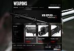 webdesign : Taser, Browning, scope