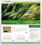 webdesign : cereals, innovations, support