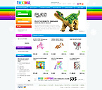 webdesign : toys, baby, vehicle