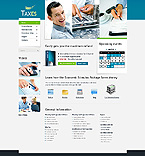 webdesign : tax, accountant, credit