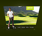webdesign : corporate, playing-field, golf-clubs