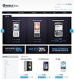 webdesign : mobile, time, cart