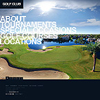 webdesign : golf, instructors, tournaments