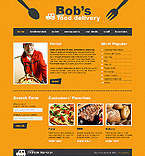 webdesign : bob, food, menu